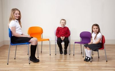 Chair 2000 Classroom Chair In Various Sizes With Students