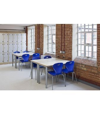 Solar General Purpose Seating In Blue In A Dining Room