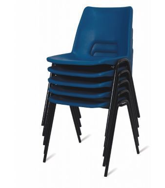A1 Next Day Poly Chair Stack In Blue
