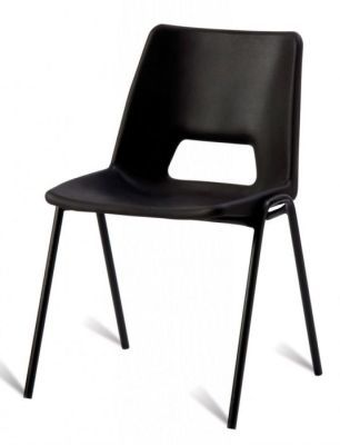 A1 Next Day Poly Chairs In All Black