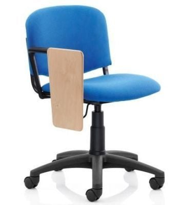 SS1 Tamperproof Computer Chair In Blue With Writing Tablet