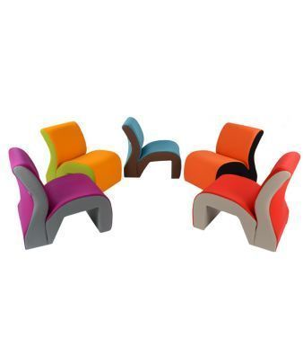 Vavoo Modular Seating In Two Tone Designs