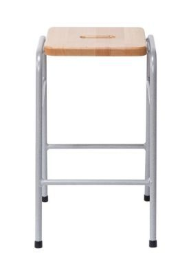 Series 25 Stacking High Stool In Beech