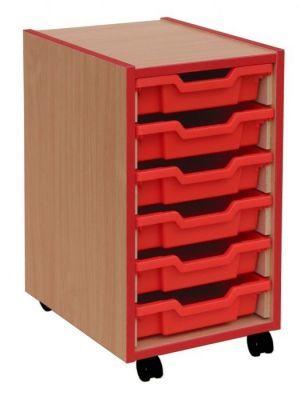Coloured-Edged-6-Shallow-Tray-Storage-compressor