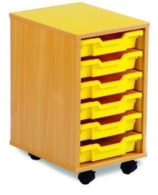 Coloured-Edged-6-Shallow-Tray-Storage -compressor