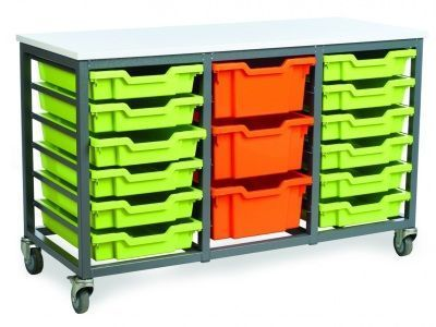 Metal-Mobile-Tray-Storage -compressor