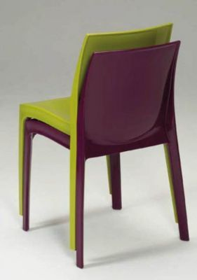 Stacking Gloss Plastic Chairs