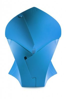 Flux Junior Blaue Chair Rear View