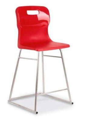 Titan High Stool Red Seat (2)