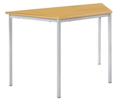 Ms Fully Welded Trapezoidal Classroom Table