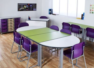 Tempest Height Adjustable Tables Mood Shot
