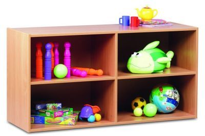 Beech Stackable Comi Classroom Storage 3 Unit