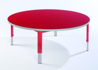 Start Right Round Height Adjustable Nusery Tables