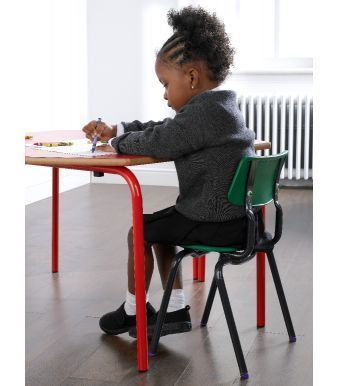 Classroom Table With Child