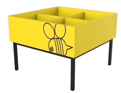 Honey Bee Kinder Box
