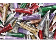 Glitter Glue Tubes Compressed