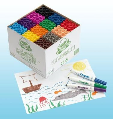 Crayola Washable Markers Compressed