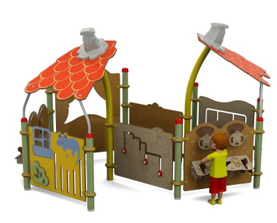 Picollo Outdoor Play Centre L