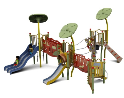 Piccollo Three Twower Outdoor Playcentre S