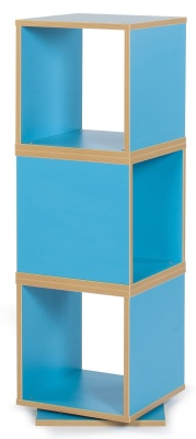 MZ Swivel Cube Storage In Light Blue
