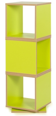 MZ Swivel Cube Storage In A Lime Green Finish