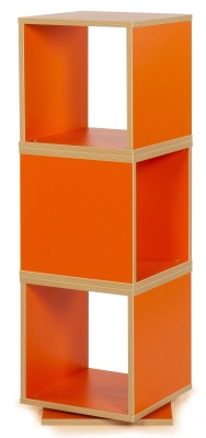 MZ Swivel Cube Storage In Orange