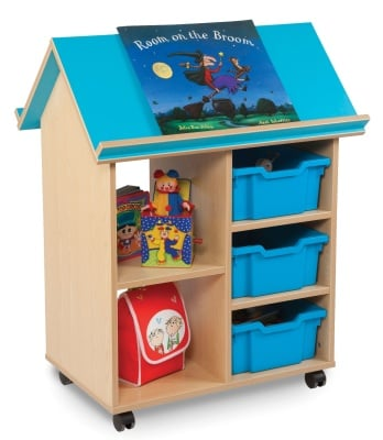 Book House With Thre Deep Trays