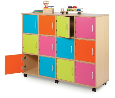 MZ Coloured Classroom Lockers