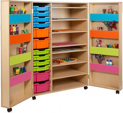 MZ Combination Art Storage Cupboard