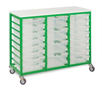 MZ 18 Tray Storage Trolley