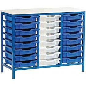 24 Tray Static Storage Unit