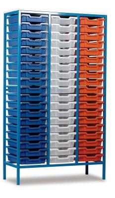 MZ 57 Tray Static Metal Storage