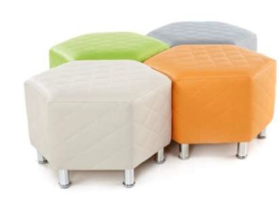 Hex Quilted Stools 2