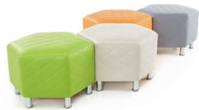 Hex Quilted Stools 3