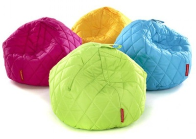 Sayu Large Quilted Bean Bafg Group Of Four
