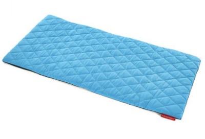 Sayu Blue Quilted Rectangular Mat