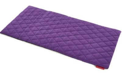 Sayu Purple Rectangular Quiled Mat