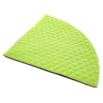 Corner Cirecle Mat In Lime