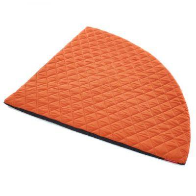 Corner Circle Mat In Orange