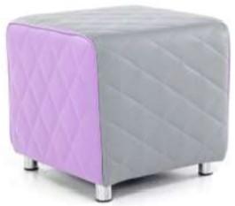 Sayu Cube Grey And Purple
