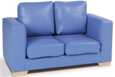 ROMA TWO SETER SOFA IN BLUE
