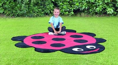 Ladybird Shaped Outdoor Playmat