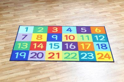 Rainbow 1 - 25 Floor Mat 4