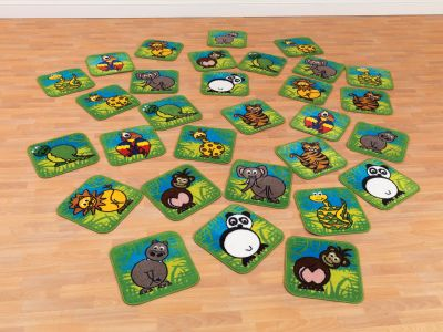 Town And Country Zoo Aninals Mini Mats 6