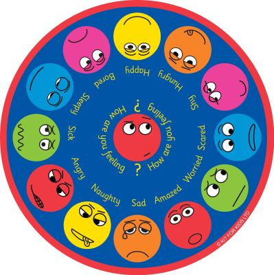 Emotions Interactive Placent Mat Graphic