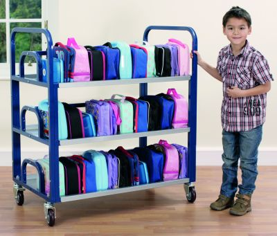 Tuf Metal Double Lunchbox Trolley