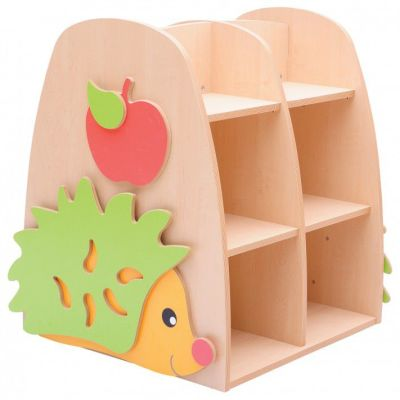 Double Sided Hedgehog Bookcase Compressed