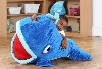Under The Sea Moby Whale Giant Floor Cushion 2