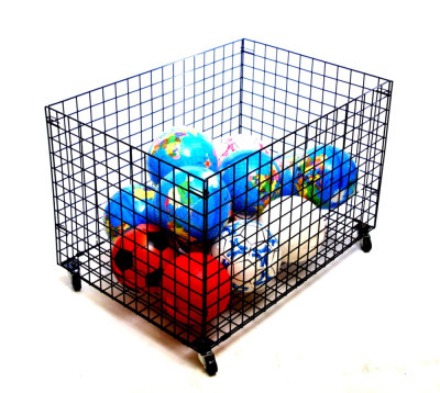 Giant Mobile Gym Storage Basket