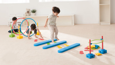 Motor Skills Play Set Universal Children Playing 4
